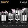 Aspire - Quad-Flex Survival Kit【中〜上級者向け・電子タバコ/VAPEアトマイザー】