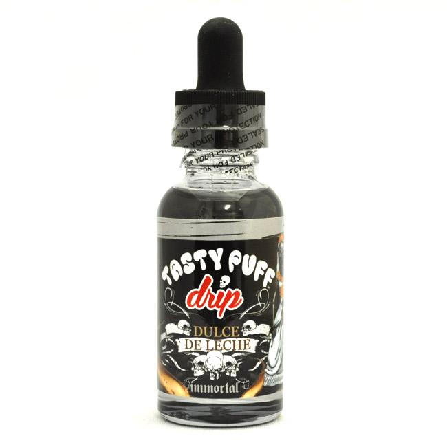 【アメリカ産】Tasty Puff Drip - DULCE DE LECHE(ドゥルセ・デ・レチェ)【電子タバコ/電子シーシャ/VAPE用・補充リキッド】                                     [#1812]