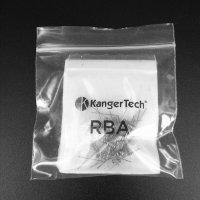 Kanger 日本製オーガニックコットン & RBAコイル(0.5Ω・20個)