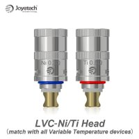 Joyetech - Delta II 専用 LVC ニッケル/チタニウム・コイルヘッド(5個セット)【温度管理機能付きMOD専用】