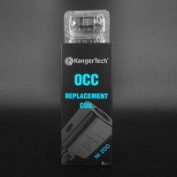 Kanger Tech - Nickel Ni200 OCC・SUB TANK/TOPTANKシリーズ専用コイル(5個セット)【温度管理機能付きMOD専用】