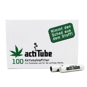 画像1: acti Tube(Tune)- 活性炭フィルター【レギュラーサイズ】100本入り
