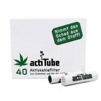 acti Tube(Tune)- 活性炭フィルター【レギュラーサイズ】40本入り