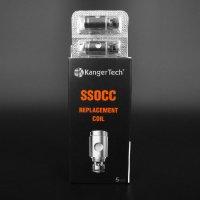Kanger Tech - SSOCC (コイルヘッド・5個セット)