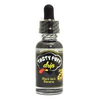 【アメリカ産】Tasty Puff Drip - BLACK JACK BANANA(ブラックジャックバナナ)【電子タバコ/電子シーシャ/VAPE用・補充リキッド】