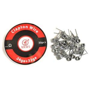 画像1: Clapton Wire  Coil(クラプトン・ワイヤー・コイル)プリメイド30個入り