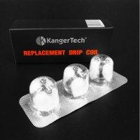 Kanger Tech - DRIP COIL(Drip Box用コイルヘッド・3個セット)