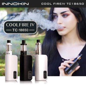 画像1: Innokin - Cool Fire IV・TC18650 スターターキット【温度管理機能付き・電子タバコ/VAPE】