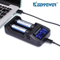 KEEP POWER - L2 Charger(2A・ACアダプタ付き)【リチウム充電池用バッテリーチャージャー】
