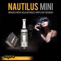 Aspire - Nautilus  Mini Tank 2ml【電子タバコ/VAPEアトマイザー】