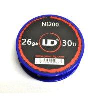 UD - Ni200(ニッケルワイヤー・26G)約10m