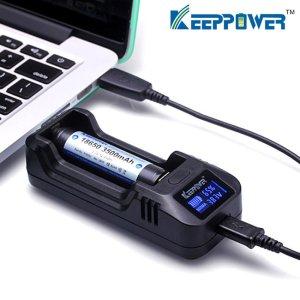 画像1: KEEP POWER - L1 Charger【リチウム充電池用バッテリーチャージャー】