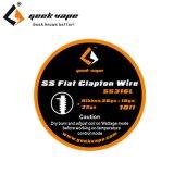 Geek Vape - SS Flat Clapton Wire(ステンレススチール・フラット・クラプトン)約3m