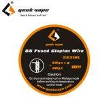 Geek Vape - SS Fused Clapton TC Wire(ステンレススチール・フューズド・クラプトンTC)約3m