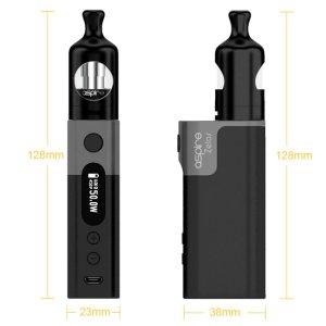 画像2: Aspire  - Zelos 50W Kit 【温度管理機能付き・電子タバコ/VAPEスターターキット】