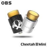 OBS - Cheetah II Mini RDA 22mm【中〜上級者向け・電子タバコ/VAPEアトマイザー】