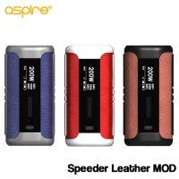 Aspire  - Speeder Leather MOD 【温度管理機能・アップデート機能付き・電子タバコ/VAPE】