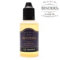 【国産】 BINDERS - E-LIQUID (ビンダース・アイスメンソール)【電子タバコ/電子シーシャ/VAPE用・補充リキッド】