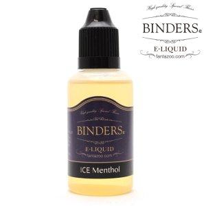画像1: 【国産】 BINDERS - E-LIQUID (ビンダース・アイスメンソール)【電子タバコ/電子シーシャ/VAPE用・補充リキッド】