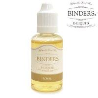 【国産】 BINDERS - E-LIQUID (ビンダース・ロイヤル)【電子タバコ/電子シーシャ/VAPE用・補充リキッド】