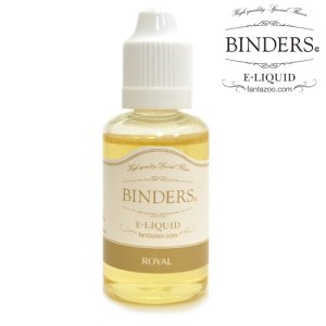 画像1: 【国産】 BINDERS - E-LIQUID (ビンダース・ロイヤル)【電子タバコ/電子シーシャ/VAPE用・補充リキッド】