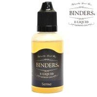 【国産】 BINDERS - E-LIQUID (ビンダース・センス)【電子タバコ/電子シーシャ/VAPE用・補充リキッド】