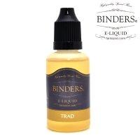 【国産】 BINDERS - E-LIQUID (ビンダース・トラッド)【電子タバコ/電子シーシャ/VAPE用・補充リキッド】