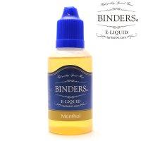 【国産】 BINDERS - E-LIQUID (ビンダース・メンソール)【電子タバコ/電子シーシャ/VAPE用・補充リキッド】