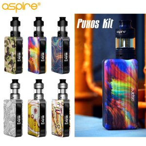 画像1: Aspire  - Puxos Kit (21700電池付き) 【温度管理機能付き・電子タバコ/VAPEスターターキット】