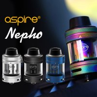 Aspire  - Nepho Tank 【電子タバコ/VAPE】