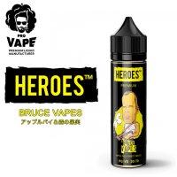 PRO VAPE HEROES  - BRUCE VAPES (アップルパイ&森の果実)60ml
