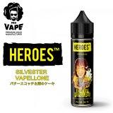 PRO VAPE HEROES  - SILVESTER VAPELLONE (バタースコッチ&栗のケーキ)60ml