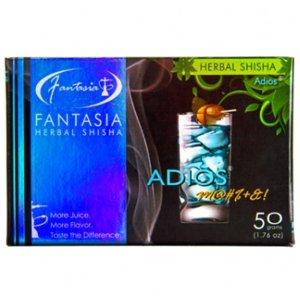 画像1: FANTASIA - アディオス 50g(ニコチンなし・シーシャ用ハーブフレーバー)