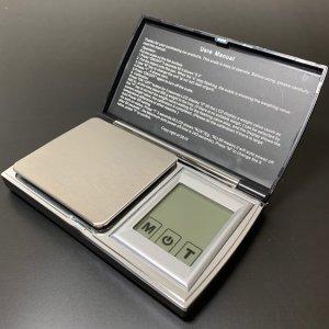 画像1: タッチパネル式デジタルスケール [0.01g〜200g]