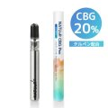 【高濃度 CBG 20%配合】 NATUuR - CBG  20% with Terpenes Pen 【使い捨て CBGペン】
