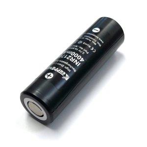 画像1: 【Samsung製セル】KEEPPOWER - INR 21700 リチウムイオン充電池【フラットトップ/4000mAh/Max45A】