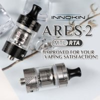 Innokin - ARES 2 MTL RTA (D22 / D24)【中〜上級者向け・電子タバコ/VAPEアトマイザー】