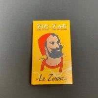 Zig-Zag ペーパー イエロー ダブル