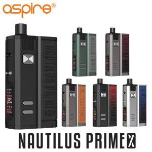 画像1: Aspire  - Nautilus Prime X 【電子タバコ / VAPEスターターキット】