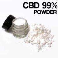CBDアイソレート パウダー CBD原料 1g / 3g/ 5g / 30g /50g  (高濃度99%以上)