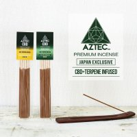 AZTEC -  Premium Incense CBD & テルペン配合 お香 10本入り