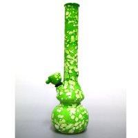 ガラスボング「カラーペイント/グリーン」