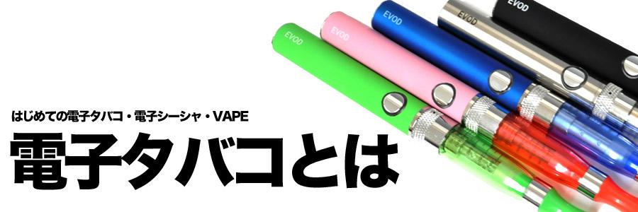 """""""電子タバコ・電子シーシャ・VAPEってなに?""""/"""